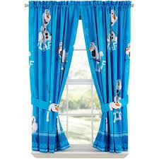Disney Frozen Olaf Boys Bedroom Curtains 2 Count Walmart Com Walmart Com