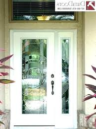 entry door inserts decorative glass