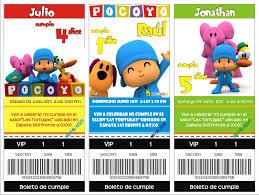 Tarjetas De Cumpleanos Para Imprimir De Pocoyo Imagui