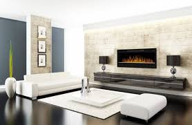 install a wall mounted electric fireplace