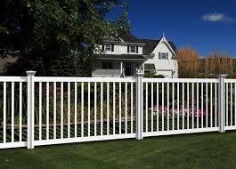 Plain Jane Vinyl Fence Wambam Fence