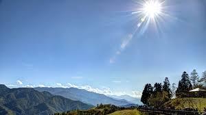 shiny sun clear blue sky hd wallpaper