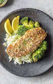 Zesty Crusted Catfish over Cilantro ...