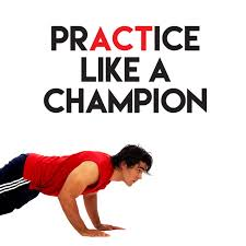 Practice Like A Champion Wall Decal Home Decor Wall Decals