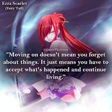 quote the anime on erza pic art by t co