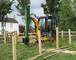 Hydraulic Post Driver Attachment Diggers Attachments Smiths Hire