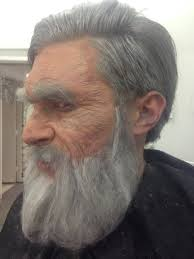 how to look like an old man makeup