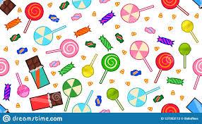 Invitaciones De Halloween De Los Caramelos Y De Los Chocolates Stock De Ilustracion Ilustracion De Cabritos Historieta 127353112