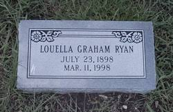Louella Graham Ryan (1898-1998) - Find A Grave Memorial