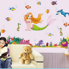 Disney The Little Mermaid Ariel Wall Decals The Treasure Thrift