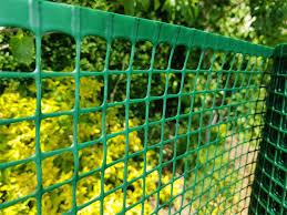 Green Plastic Garden Mesh 20x20mm Square Mesh Plastic Fencing Mesh