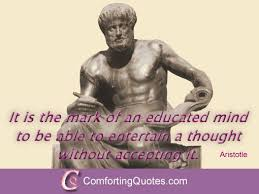 aristotle quotes on education com