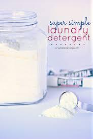 recipe for homemade laundry detergent