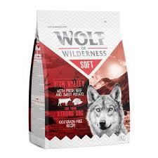 Wolf of Wilderness Soft High Valley com vaca | Compre agora na zooplus!