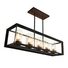 rectangular pendant chandelier orion 16