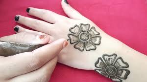 rose flower beautiful mehndi design 2019