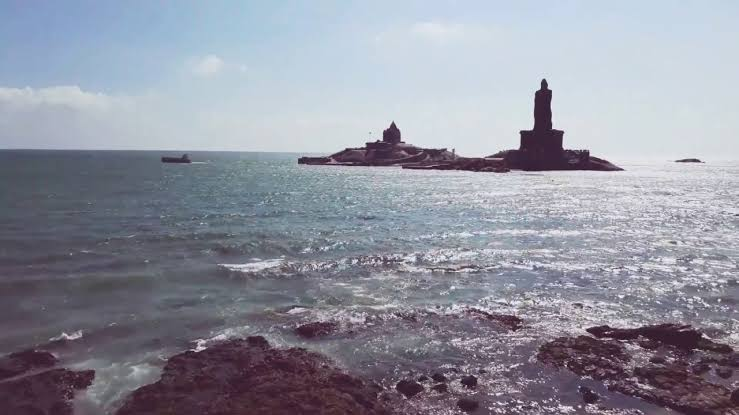 Image result for Sea of Colours at Kanyakumari