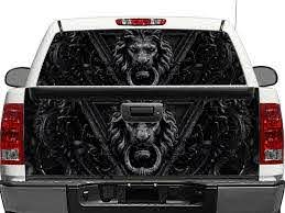 Product Black Lion Door Rear Window Or Tailgate Decal Sticker Pick Up Truck Suv Car
