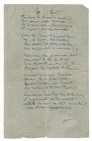 104 RIMBAUD, Arthur. Comédie de la soif Manuscrit autographe, à l ...