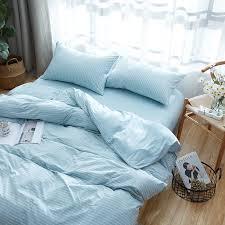 cotton jersey knit fabric pastel blue