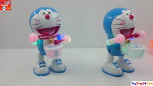 Đồ chơi mèo doremon, mèo máy thông minh, doraemon games, cat toys ...