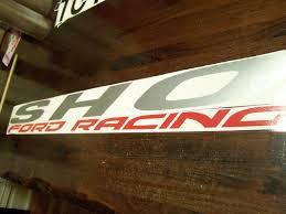 Ford Taurus Sho Winshield Decal Vinyl Sticker Banner Ford Racing