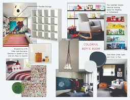 Mood Board Colorful Boy S Bedroom Heather Zerah Interiors