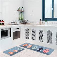 kitchen mat 2 pieces non slip pvc