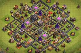 3 Excellent Town Hall 9 Farming Base ...