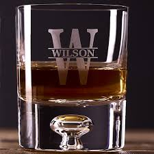personalized lexington whiskey glasses