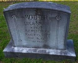 Lula Smith Westbrook (1872-1928) - Find A Grave Memorial