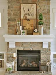 chic mantel ideas
