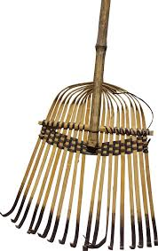 bamboo rake cleaning tools horme