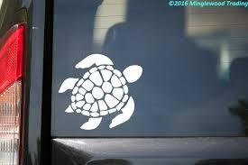 Sea Turtle Vinyl Decal Sticker 5 X 4 5 Leatherback Minglewood Trading