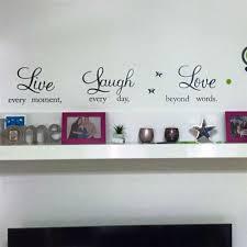 Live Laugh Love Wall Sticker Picksthatstick