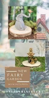 new miniature fairy garden animals