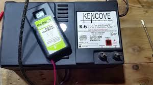 Kencove Electric Fence Charger Repair Youtube