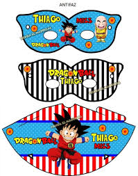 Imprimible Invitaciones Dragon Ball Z Cotillon 50 00 En
