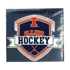 Gameday Spirit Fanstore Cdi Corp University Of Illinois Fighting Illini Hockey Decal