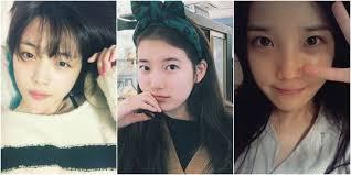 kpop idols without makeup