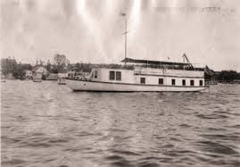 fdr and his houseboat the log of the