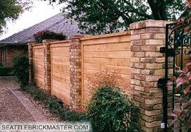 Brick Fence Laptop Repair Brick Fence Fence Design Backyard Fences