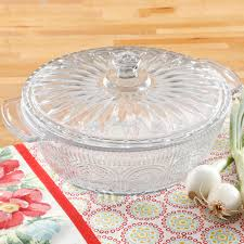 The Pioneer Woman Adeline 2.5-Quart Glass Casserole with Lid ...