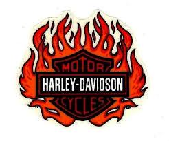 Madewindow Usainside Davidson Licensed Genuine Vintage Flaming Sticker Shield Inside Harley Window Decal Flame 1 In 2020 Harley Davidson Harley Davidson
