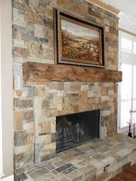 indoor stone fireplace dallas living