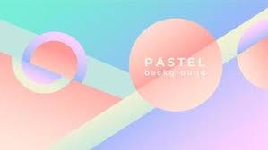 pastel wallpaper free vector art 5