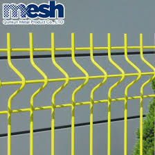 China Black Welded Wire Fence Mesh Panel China Steel Bend And 3d Fencing Price
