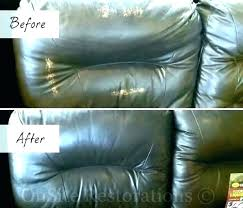 leather couch scratch repair
