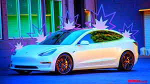 Tesla Model 3 Color Change Vinyl Wrap