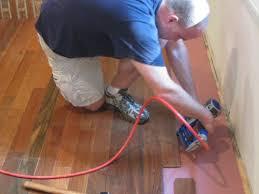 what is blind nailing in hardwood floor